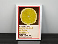 Stone Roses Spike Island Art Print