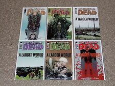 The Walking Dead # 91 92 93 94 95 & 96 A Larger World 1st Jesus Six Issue Set