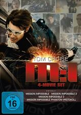 JON VOIGHT TOM CRUISE - MISSION: IMPOSSIBLE 1-4 (4 MOVIE SET) 4 DVD NEU