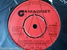 "VINYL 7"" SINGLE - LETS MAKE LOVE - CAST OF GUYS AND DOLLS - MAG98"