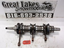 Polaris Indy 600 650 Vintage Triple Snowmobile Fuji Engine Crankshaft