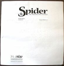Spider Magazine - February 2017 (Braille for the Blind Teen)