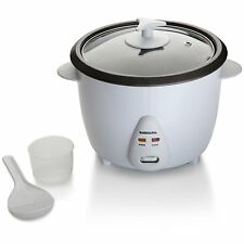 1.8 LITRE 700 WATT NON STICK RICE COOKER WHITE