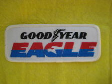 "Vintage Good Year Eagle Tires  Racing Division Patch  5 1/4  "" X  2 """