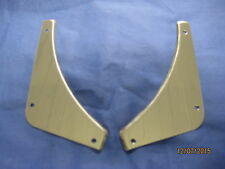 MG    MGB 1962-1974 PAIR STAINLESS STEEL REAR BUMPER INFILLS  v1e   EB55  ***