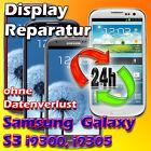 Glas Displayglas Samsung Galaxy S3 I9301 Neo Reparatur 24H UV Vollverklebung