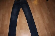 ROCK & REPUBLIC BERLIN SKINNY JEAN LEGGING SIZE 4 M DARK WASH LOW RISE