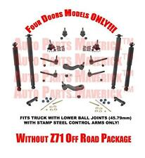 95-99 Tahoe K1500 Yukon Without Z71 Off Road Package Suspension Chassis Kit 18Pc