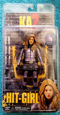 "KICK ASS 2 Figure HIT GIRL UNMASKED 7"" Tall by NECA  REEL TOYS  KA2 HIT-GIRL NEW"