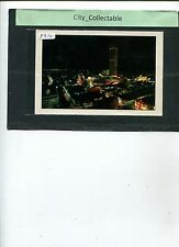 P310 # MALAYSIA USED PICTURE POST CARD * PENANG AT NIGHT VIEW