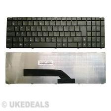 Original Nuevo Asus X5d X5dc x5dij x50ij x5din x5di x5ac serie teclado del Reino Unido Negro