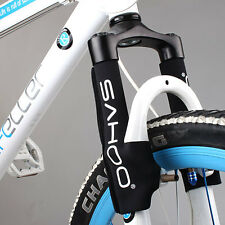 2 x ROSWHEEL Protection Couverture en Néoprène pour Fourche Avant Bicyclette VTT