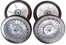 Genuine OEM Honda Front & Rear Tire Wheel Kit - HRR216 HRS216 HRT216 Lawn Mower