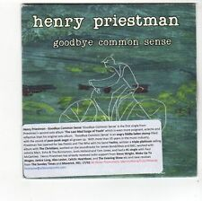 (FA915) Henry Priestman, Goodbye Common Sense - 2014 DJ CD