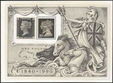 GB 1990 Penny Black 150th/Horses/Queen Victoria/StampEx/Nature 1v m/s (n17670)