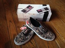 Vans Authentic Nintendo Duck Hunt Camo Men's 10.0 VN0004MLJP7 NIB Shoes Skate