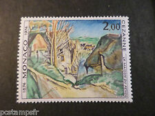 MONACO 1974, timbre 971, TABLEAU CEZANNE, PAINTING, neuf**, VF MNH STAMP