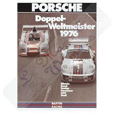 Porsche 935 and 936 Doppel Weltmeister 1976 Martini Racing Poster