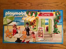 Playmobil 5129 Outdoor Summer Fun Cafe New in box!