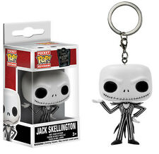 KEYCHAIN NIGHTMARE BEFORE CHRISTMAS JACK SKELLINGTON DISNEY FIGURE POP FUNKO #2