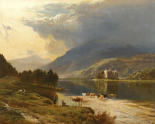 Sidney Richard Percy  Kilchurn Castle Loch Awe  24'  CANVAS