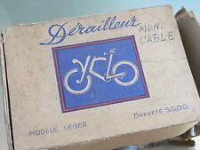 NOS NEW NIB rare cyclo derailleur 1940s rene herse, singer, goeland, model leger
