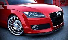 carbon Spoilerlippe für Audi TT 8J Bj. 06-14 Frontspoiler Spoiler Ansatz RS S