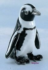 Adorable Penguin painted pewter figurine