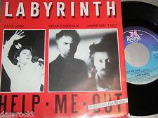 """7"""" - labirinto/help me out & Grimace-MINT 1986"""