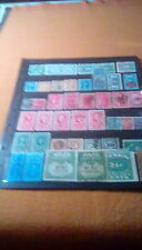 USA stamps - Back of Book - early lot of mostly used  -High Book Value
