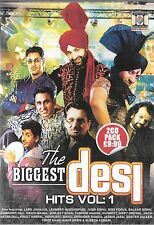 THE BIGGEST DESI HITS1 -ORIGINAL BHANGRA 2CD