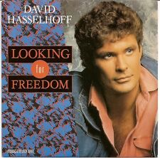 "David Hasselhoff ‎7"" Looking For Freedom - France (M/M)"