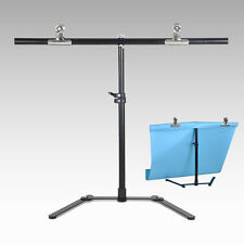 68*68cm PVC Photography Backdrop Background Support Stand System Metal w/2 clamp