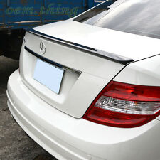 MERCEDES BENZ W204 C CLASS A TYPE REAR TRUNK SPOILER WING 4DR SEDAN ○