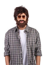 Alan The Hangover  Wig & Beard Fancy Dress