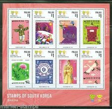 PALAU 2014 STAMPS OF SOUTH KOREA  SHEET  MINT NH
