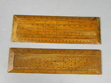 2 Military Mapping Rulers Protractor Ruler Coulsell Type / FREE Shipping
