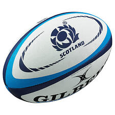 Clearance Line New Gilbert Scotland Replica Training Rugby Ball- Size 5