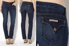 NEW Women's HUDSON Midrise Mid Rise Carly Dark Straight Leg Jean w/ Stretch 26