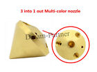 3Dprinter 3in-1out Multi-Color brass 0.4mm nozzle 1.75mm Filament for Extruder