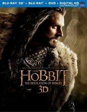The Hobbit: The Desolation of Smaug (3D/Blu-ray/DVD, 5-Disc, Digital HD) W/ Slip