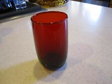 Glass Tumbler Anchor Hocking Royal Ruby Red 4-1/4""
