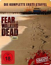 FEAR THE WALKING DEAD Steelbook KOMPLETTE STAFFEL TV-Serie BLU-RAY Box METALPACK