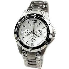 Rosra Chronograph Styled Analog Wrist Watch For Men Silver