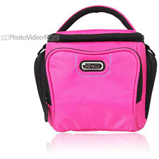 New Bower SCB3700 Pink Camera Bag For Canon, Nikon, Sony,Olympus,Fuji Cameras