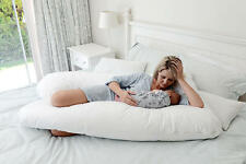 U Shape Premium Contoured Body Maternity Pregnancy Pillow
