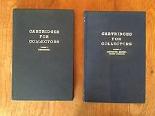 Cartridges For Collectors Vol. I & II - #184/2,000 RARE COLLECTOR Fred A. Datig