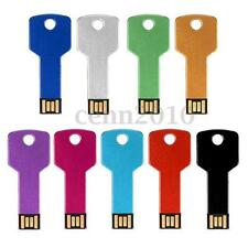 32GB METAL KEY Metal USB 2.0 Flash Drive Memory Stick Thumb Disk Gift