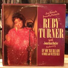"""NM 12""""~RUBY TURNER~JONATHAN BUTLER~If You're Ready~[x2]~Still On My Mind~Won't C"""