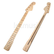 Neck for Electric J Bass Guitar Parts Replacement Maple 21 Fret Rosewood Inlay